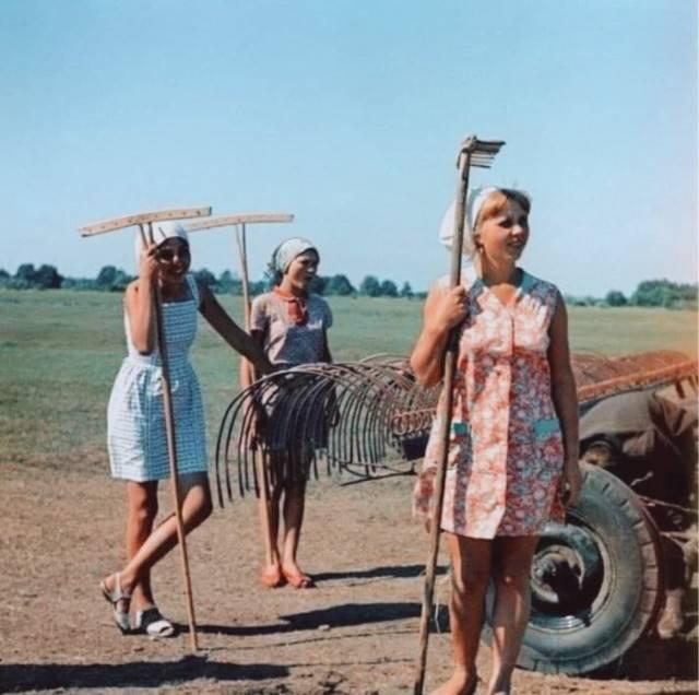 Советский Союз принято идеализировать, атмосферные фотографии из советского времени