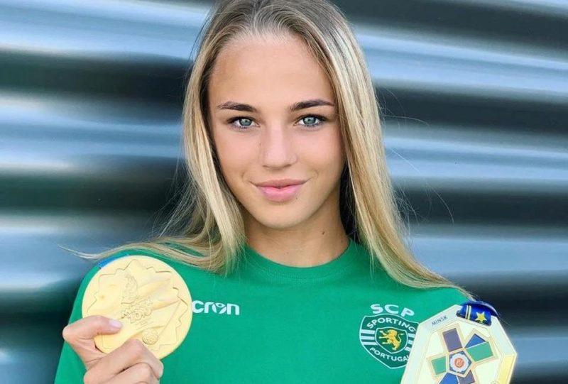 Украинка Дарья Белодед: самая красивая участница  Олимпиады в Токио 2021